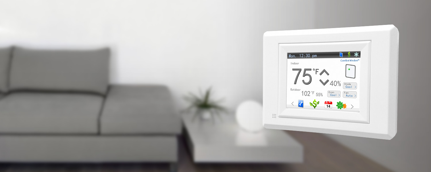 Control your thermostat from virtually anywhere.